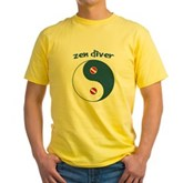 Zen Diver Yellow T-Shirt