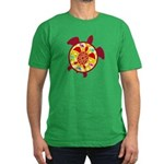 Turtle Within Turtle Men's Fitted T-Shirt (dark)
