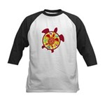 Turtle Within Turtle Kids Baseball Jersey