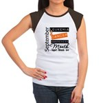 Leukemia Awareness Month v3 Women's Cap Sleeve T-S