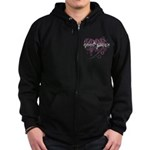 Good Witch Zip Hoodie (dark)