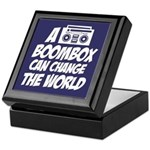 A Boombox Can Change the World Keepsake Box