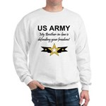 Army Brother-in-law Defending Sweatshirt