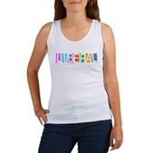Colorful Retro Liberal Women's Tank Top