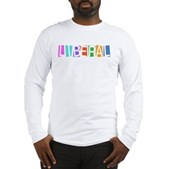 Colorful Retro Liberal Long Sleeve T-Shirt