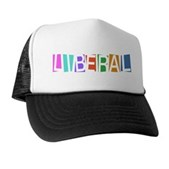 Colorful Retro Liberal Trucker Hat