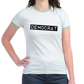 Democrat Label Jr. Ringer T-Shirt