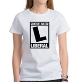 Content Rated Liberal Women's T-Shirt