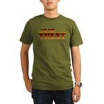 Glowing I'm the Treat Organic Men's T-Shirt (dark)