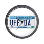Uffda Wall Clock