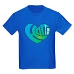 Haiti Heart Kids Dark T-Shirt