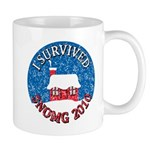 I Survived SNOMG 2010 Mug