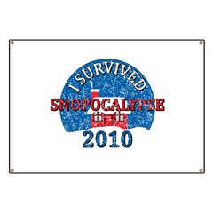 I Survived Snopocalypse Blizzard of 2010  Banner