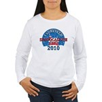 I Survived Snopocalypse Blizzard of 2010  Women's Long Sleeve T-Shirt