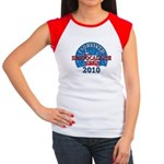 I Survived Snopocalypse Blizzard of 2010  Women's Cap Sleeve T-Shirt