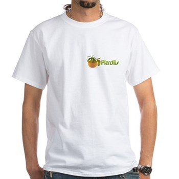 Plantiis White T-Shirt