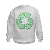 Path to Recycling Kids Sweatshirt