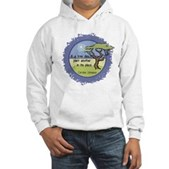 Linnaeus Quote Hooded Sweatshirt