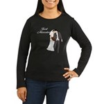 Just Married Gifts Women's Long Sleeve Dark T-Shir