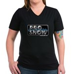 ProShow Logo Women's V-Neck Dark T-Shirt
