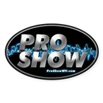 ProShow Logo Sticker (Oval 10 pk)