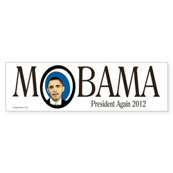 MObama Barack Obama 2012 bumper sticker