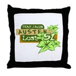 Team Jacob - Austen 51 Throw Pillow