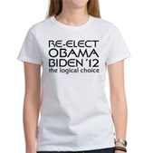 Logical Obama 2012 Women's T-Shirt