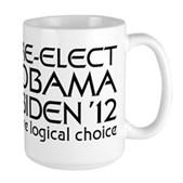 Logical Obama 2012 Large Mug