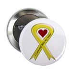 "Yellow Ribbon Love Miss Sailor 2.25"" Button (100 p"