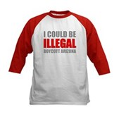 Could Be Illegal - Boycott AZ Kids Baseball Jersey