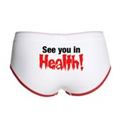 See You In Health! Women's Boy Brief