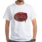 Urban Grunge Jaded White T-Shirt