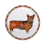 Welsh Corgi Christmas Ornament