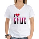 I Heart Kylie Women's V-Neck T-Shirt