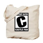 Content Rated C: Castle Fan Tote Bag