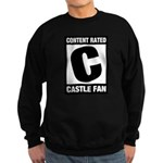 Content Rated C: Castle Fan Sweatshirt (dark)