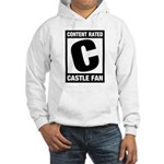 Content Rated C: Castle Fan Hooded Sweatshirt