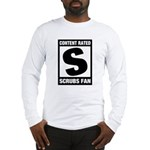 Content Rated S: Scrubs Fan Long Sleeve T-Shirt