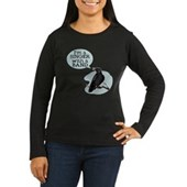  Singer with a Band Women's Long Sleeve Dark T-Shir