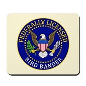 Licensed Bird Bander Mousepad
