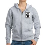 Content Rated C: CSI Fan Women's Zip Hoodie