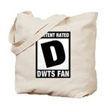 Content Rated D: Dancing With The Stars DWTS Fan Tote Bag