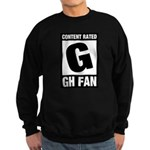 Content Rated G: General Hospital Fan Sweatshirt (dark)
