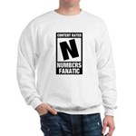 Content Rated N: Numb3rs Fan Sweatshirt