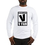 Content Rated V: V Fan Long Sleeve T-Shirt