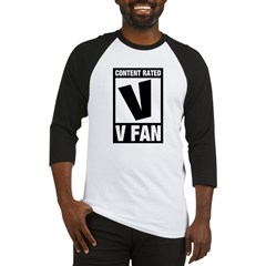Content Rated V: V Fan Baseball Jersey