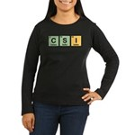 CSI Made of Elements Women's Long Sleeve Dark T-Shirt