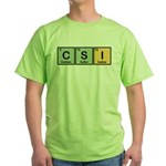 CSI Made of Elements Green T-Shirt