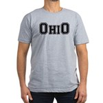 OhiO Boobies Men's Fitted T-Shirt (dark)